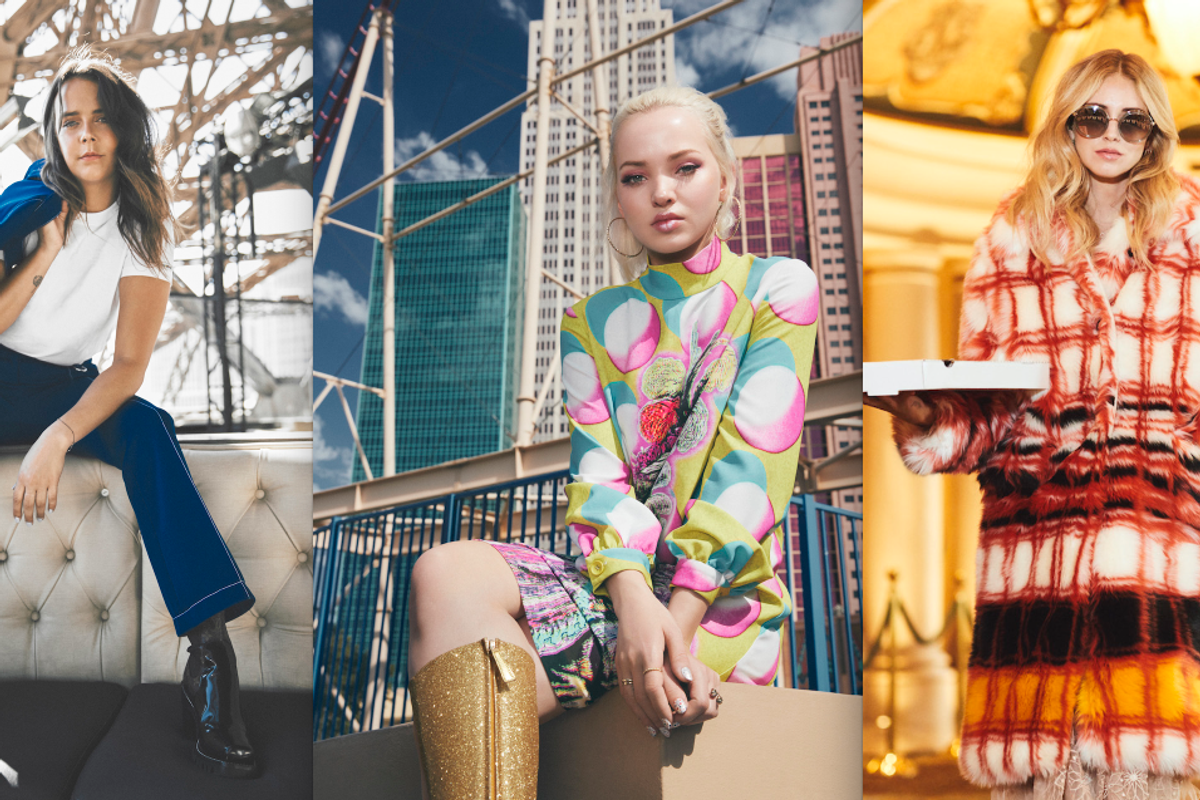 Chiara Ferragni, Dove Cameron and Pauline Ducruet Bring Runway Fashion to the Las Vegas Strip