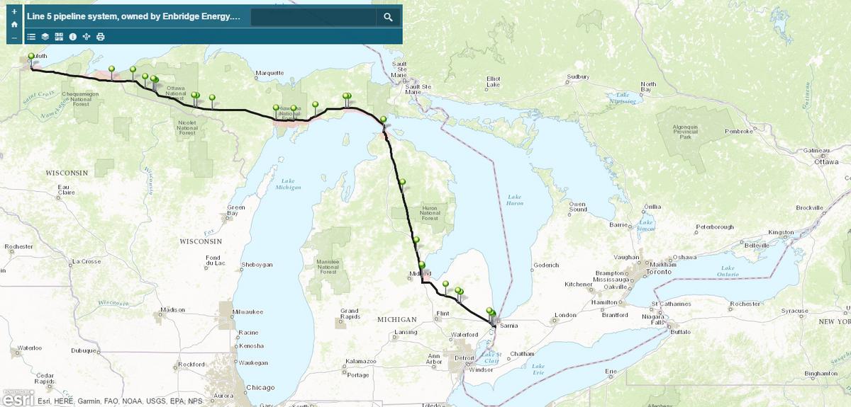 Enbridge Line 5, Potential Bigger Pipeline Scandal Than DAPL, but Also a More Winnable Fight