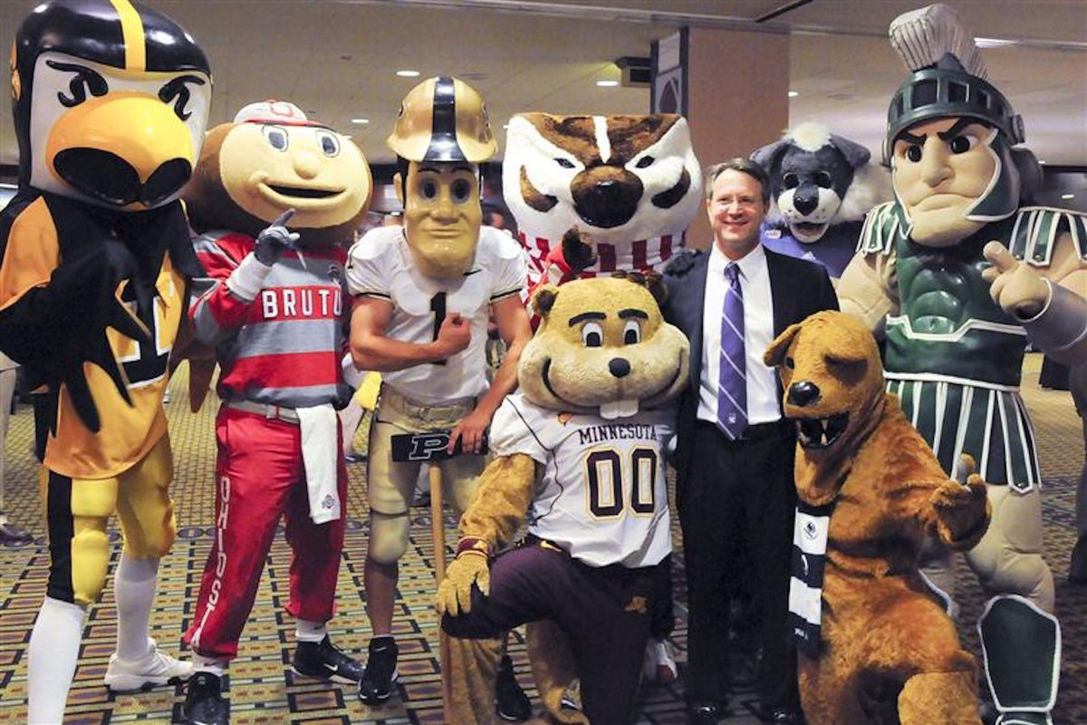 If Big Ten Schools Were People You Saw At The Gym