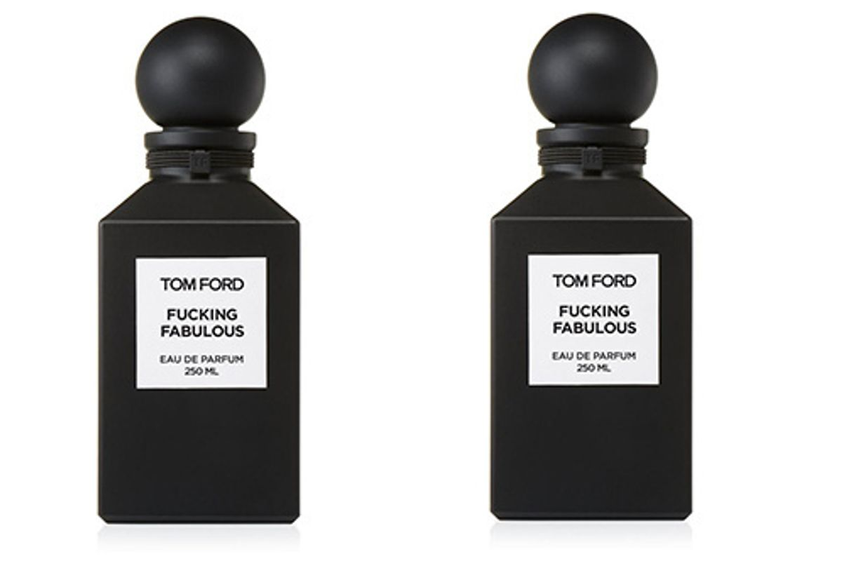 Smell F*cking Fabulous Like Tom Ford