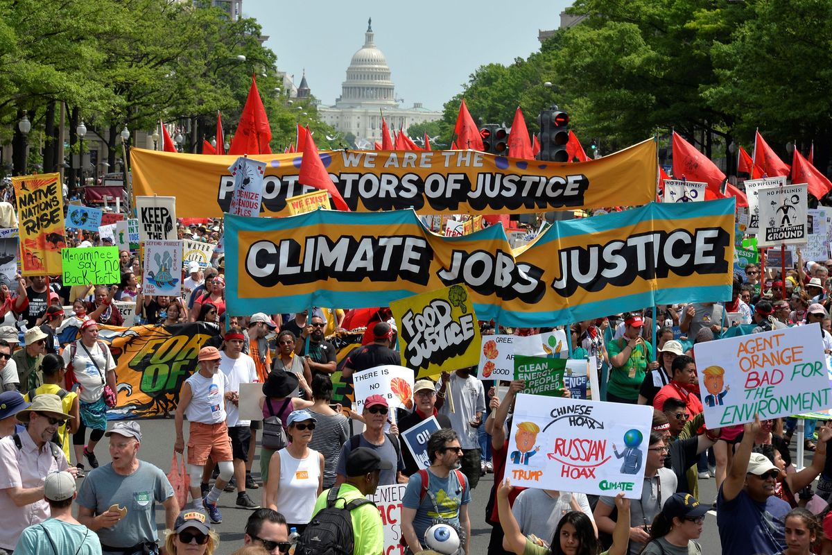 I Went To The Climate March In Washington D.C. And This Is What Happened