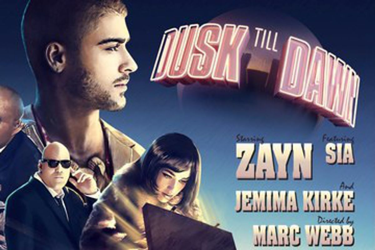 "ZAYN Takes Jemima Kirke On A Caper In The ""Dusk Till Dawn"" Music Video"