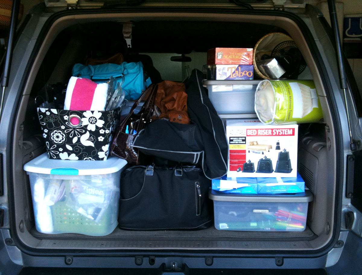 14 Efficient Ways To Pack Up Your College Dorm Room