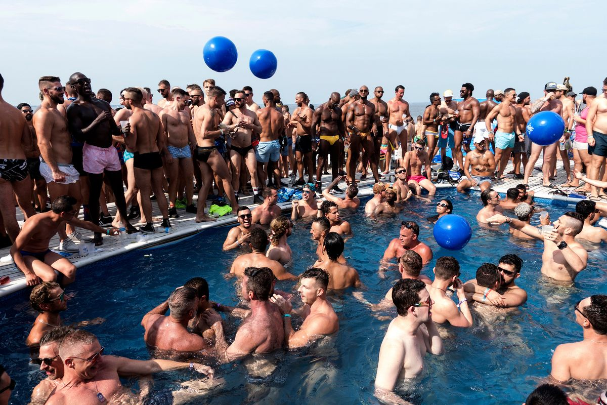 Alex Geana's Photos Capture Fire Island in All Its Gay Glory
