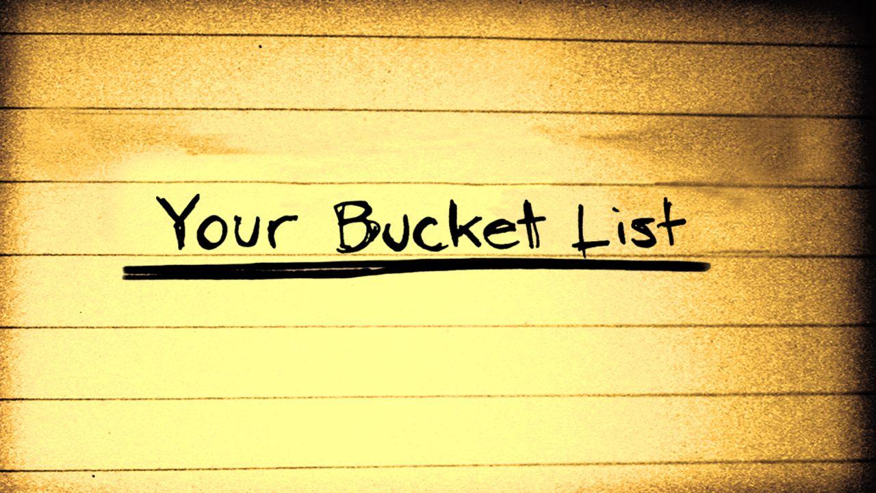 Summer Bucket List College Style