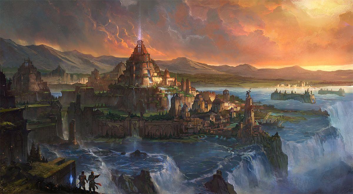 America as Atlantis