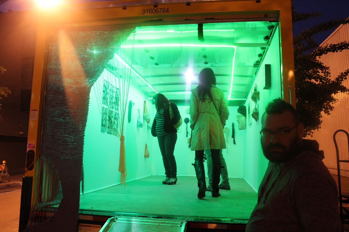 Chicago's Mobile Gallery 'Unpacked' Continues To Provide New Space For Artists