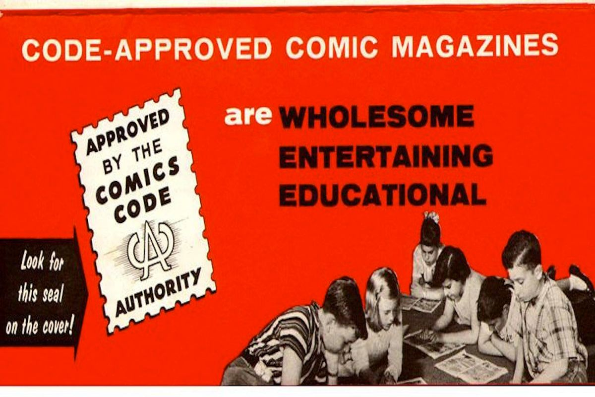 The Comics Code: An Early Moral Panic