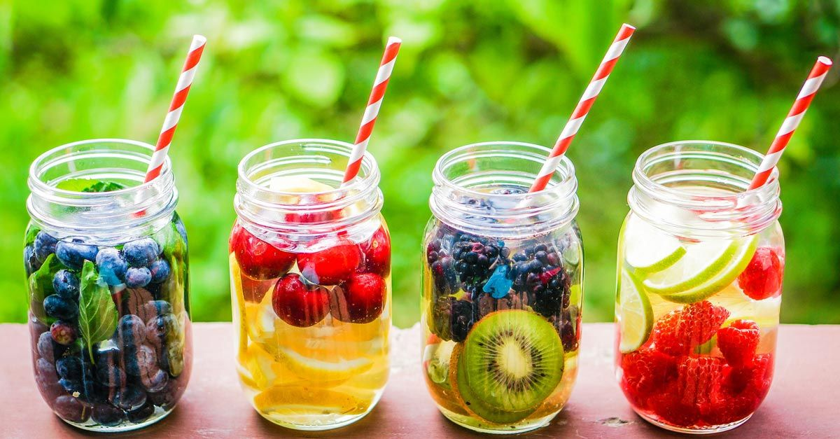 5 Detox Water Recipes