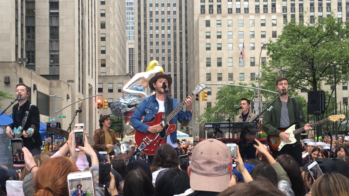 I Was VIP for Niall Horan's Today Show Concert, And This Is What Happened