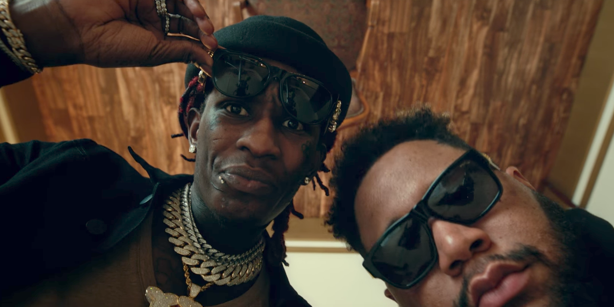 """Watch Young Thug's Trippy """"Homie"""" Video with DJ Carnage and Meek Mill"""