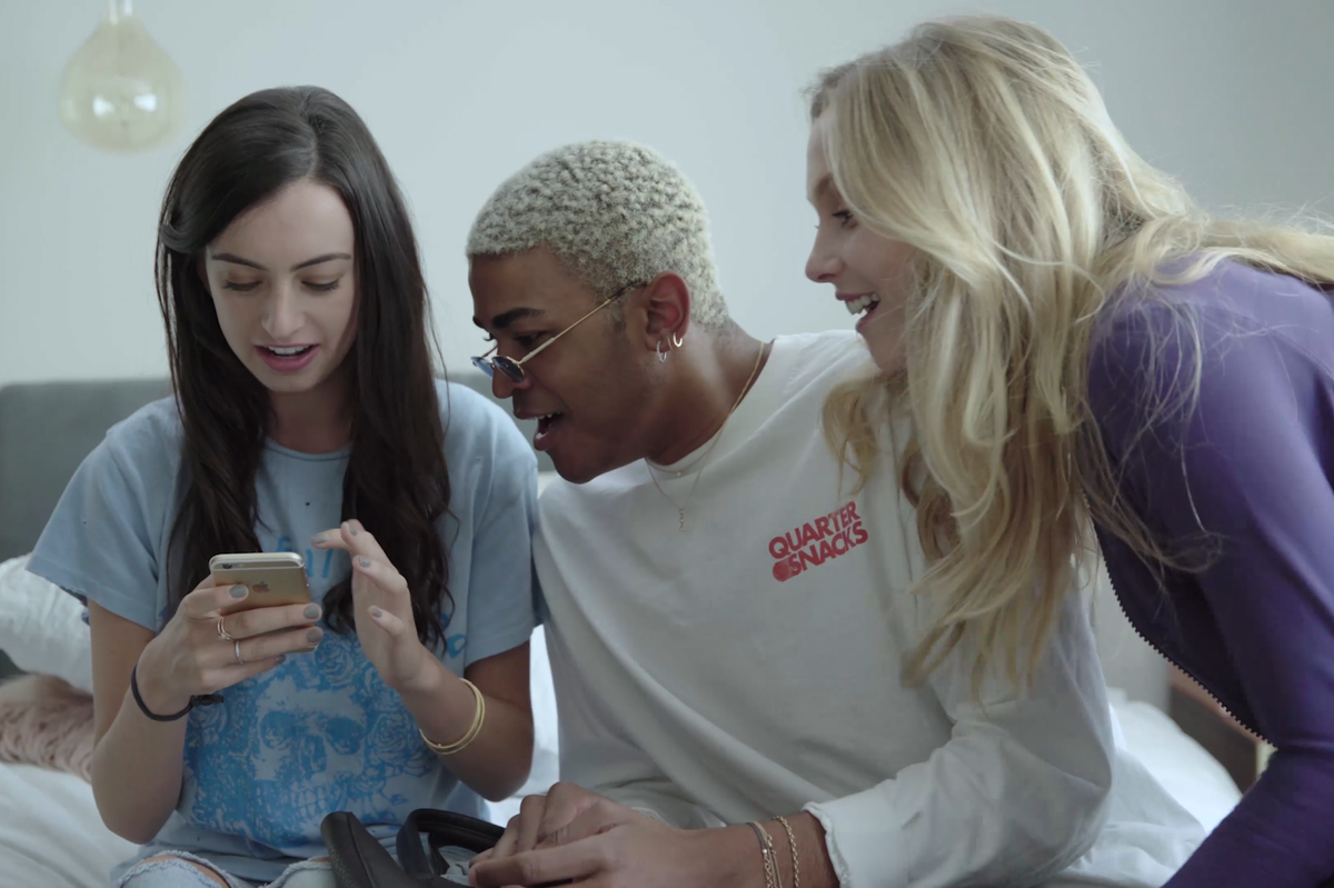"""PREMIERE: Watch the Instagram and Texting Fueled Final Episodes of Cazzie David's """"Eighty-Sixed"""""""