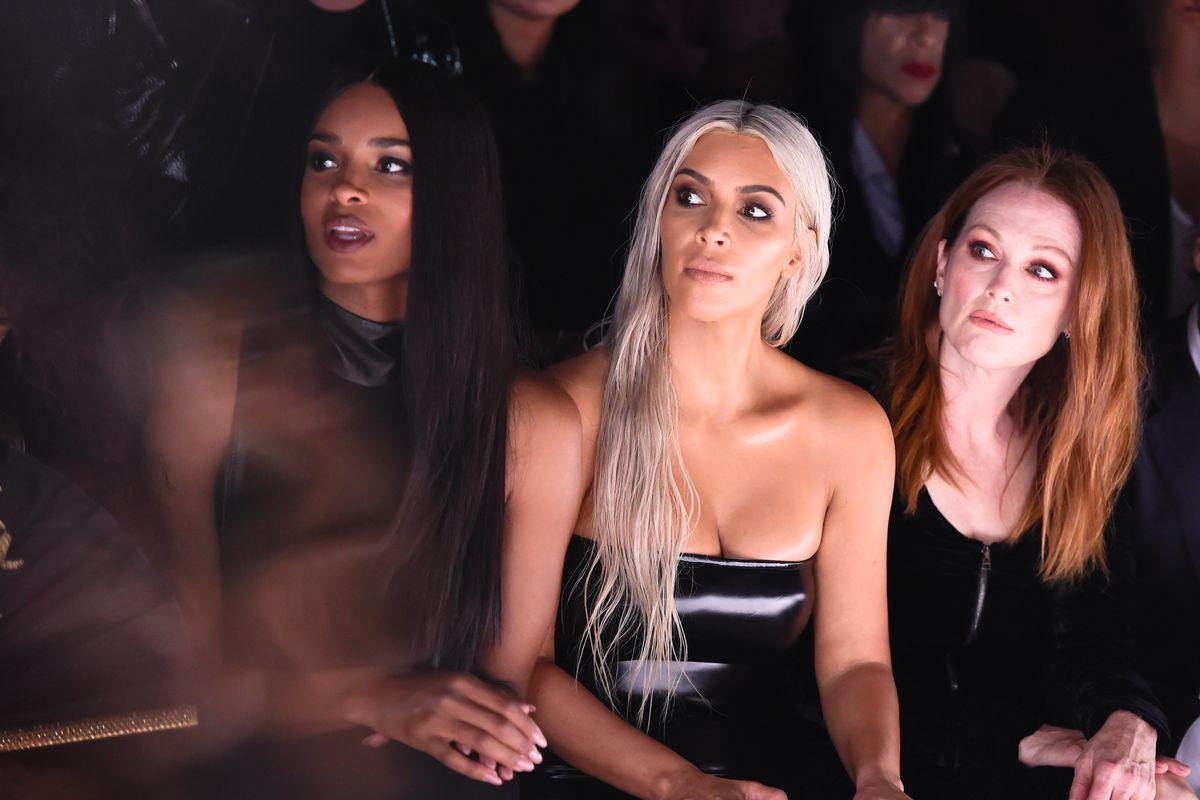 Kim Kardashian West and Paris Jackson Among the Front Row Celebs at NYFW