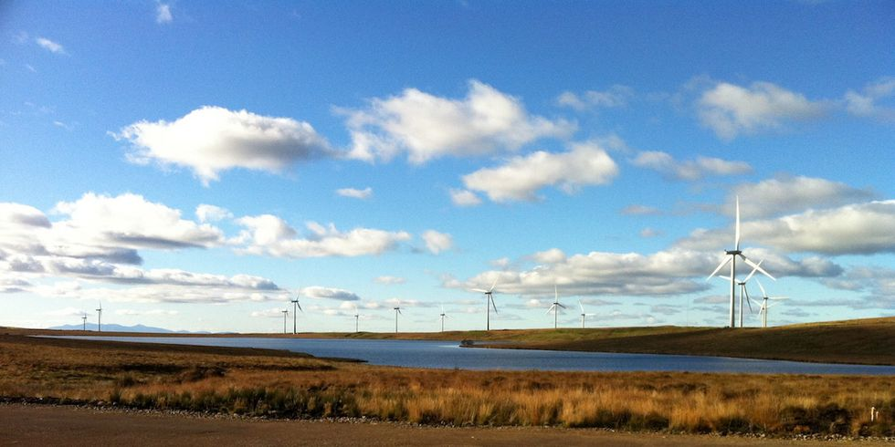 Scotland Breaks Another Wind Power Record