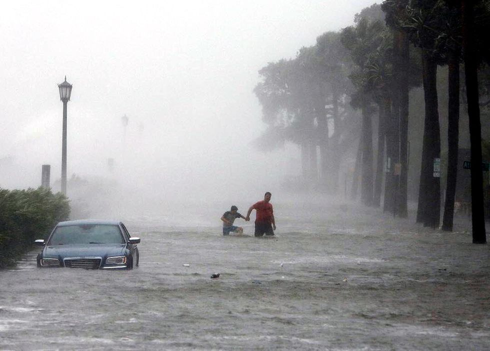 Irma Unleashes Record Flooding in South Carolina