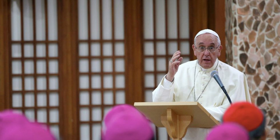 Pope Francis on Climate Change Deniers: 'Man Is Stupid'
