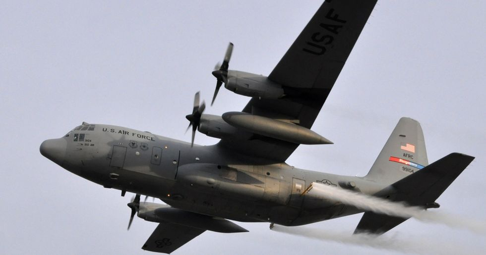 U.S. Air Force Is Spraying 6 Million Acres With Chemicals in Response to Harvey