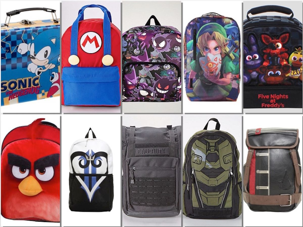 Awesome Back To School Gear For Gamers (2017)