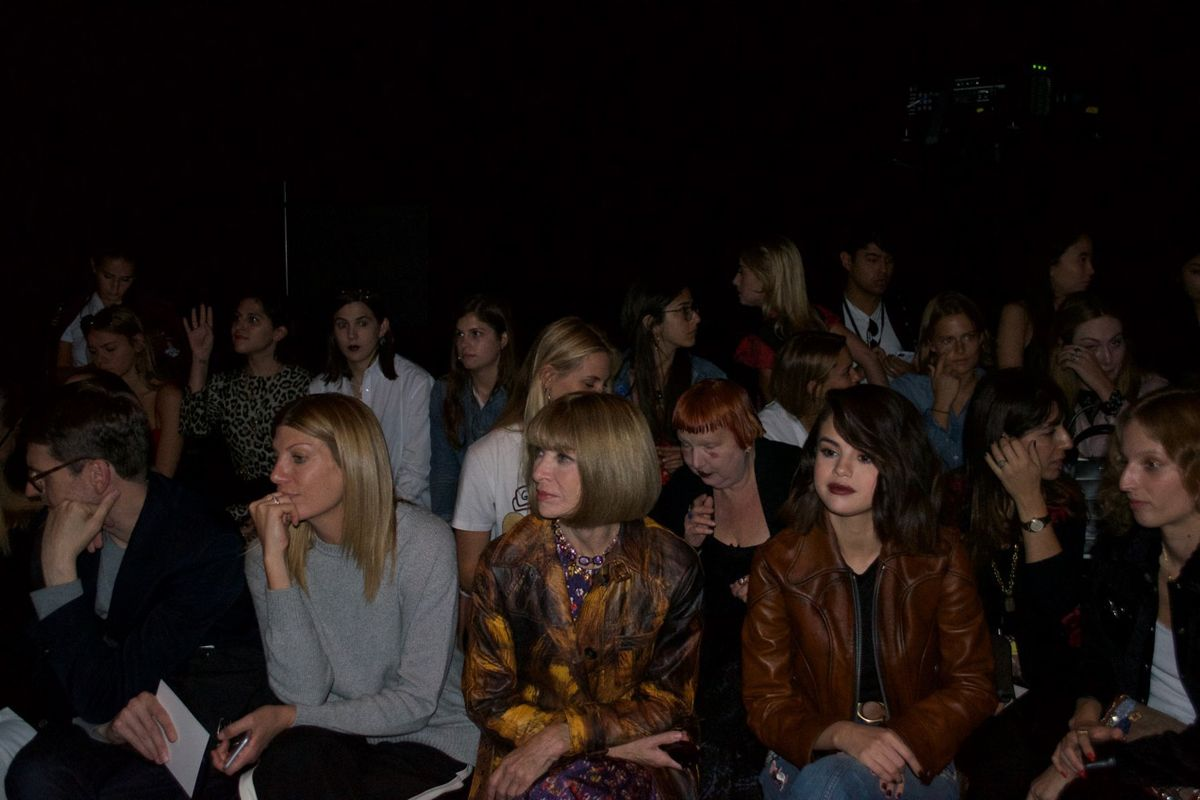Mick's Pics: Anna Wintour, Emma Roberts and More on NYFW Day 7