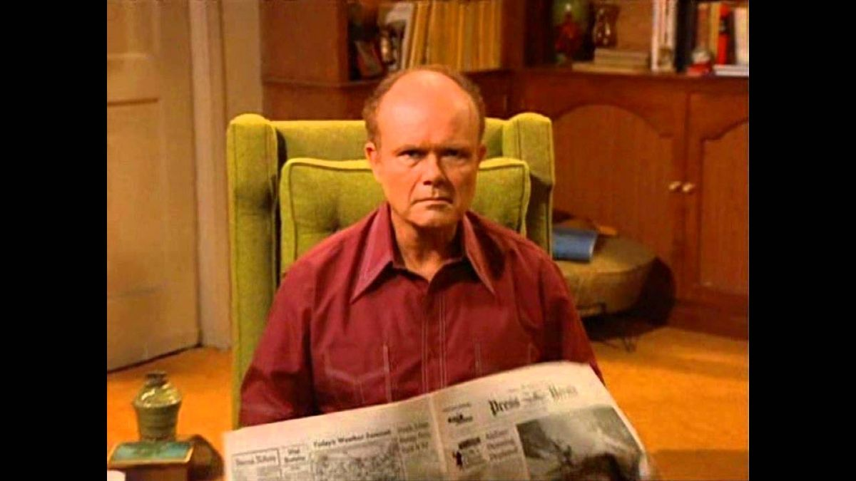 The End Of The Semester As Told By Red Forman
