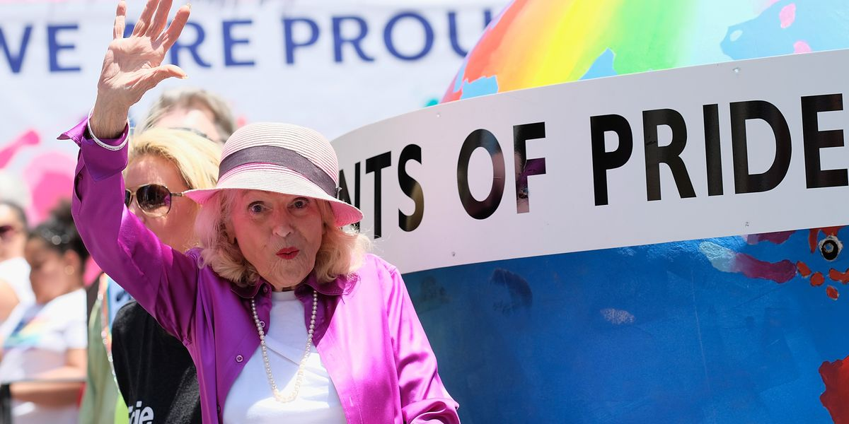 "Remembering LGBTQ Icon Edith ""Edie"" Windsor"