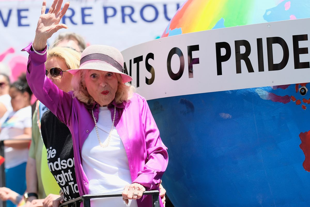 "Remembering LGBTQ Icon Edith ""Edie"" Windsor"