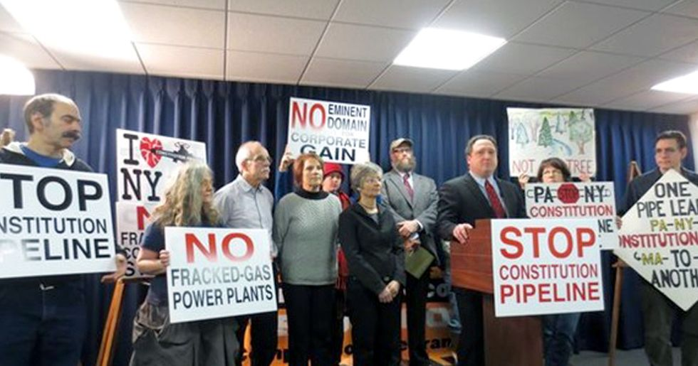 Momentum Building to Stop Gas Pipelines