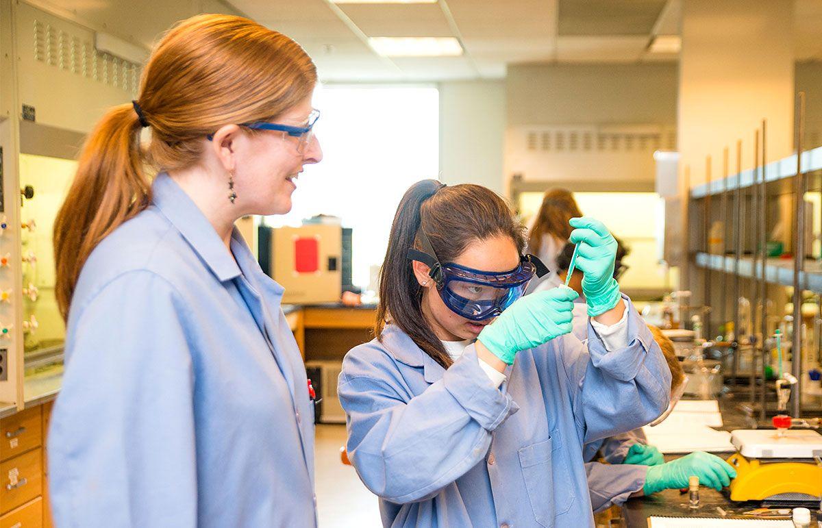 A College Freshman's Undergraduate Research Experience