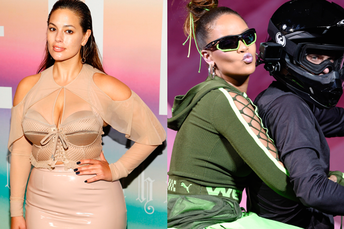 Ashley Graham Calls Out Rihanna's NYFW Show for Lack of Curvy Models