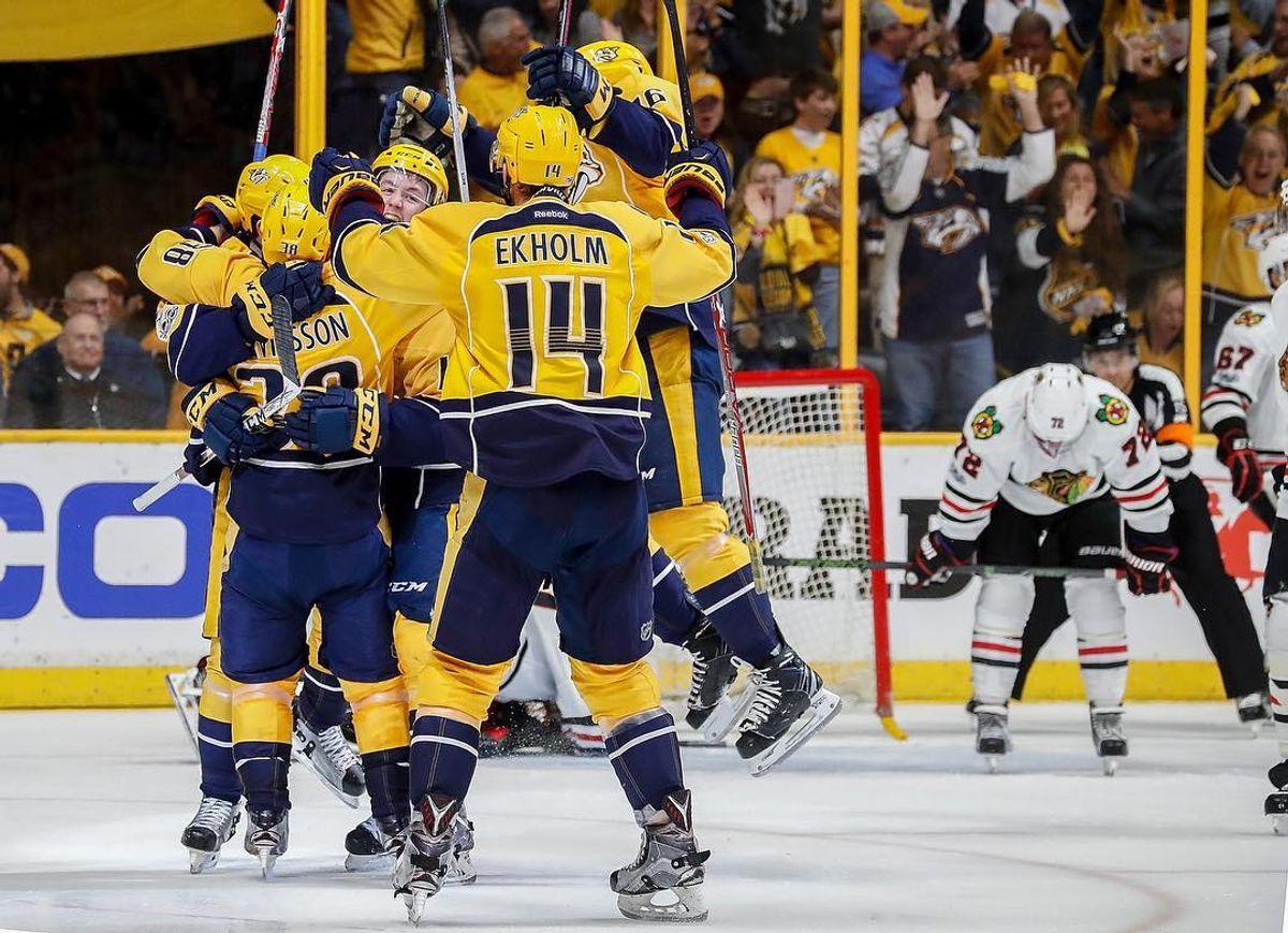 Sweep, Sweep: Predators Defeat Blackhawks In Round 1