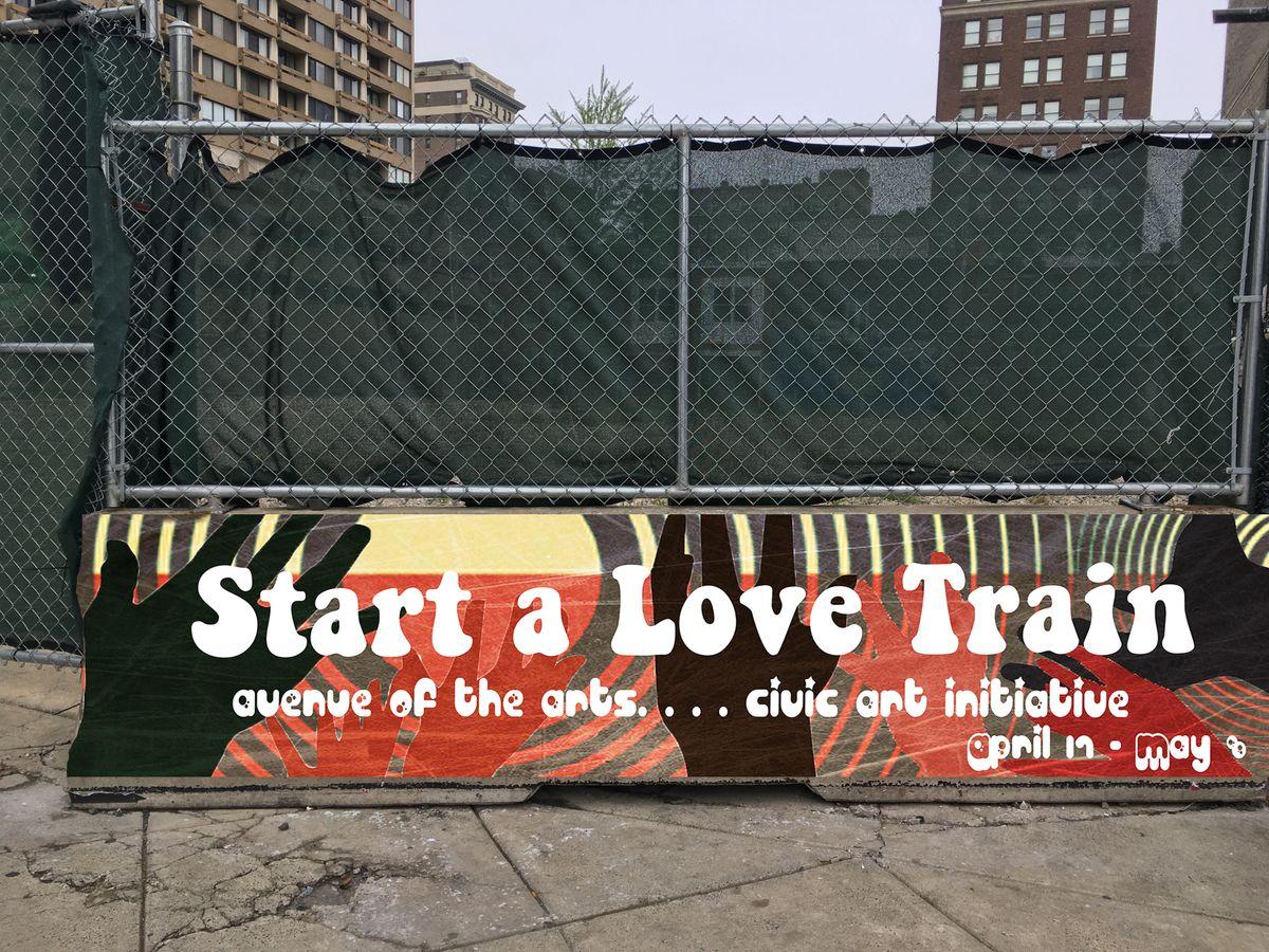Start A Love Train: A Very Philadelphian Art Exhibition
