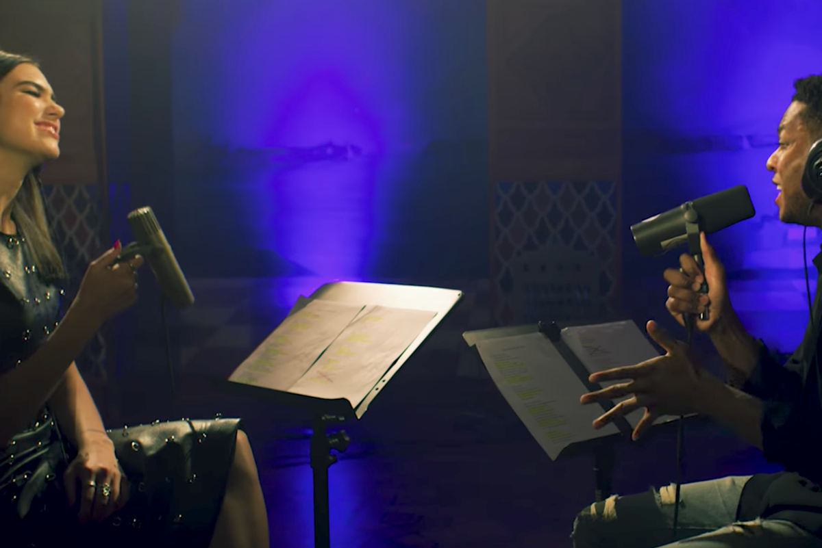 Watch Sweet Angels of Music, Dua Lipa and Gallant, Cover Amy Winehouse