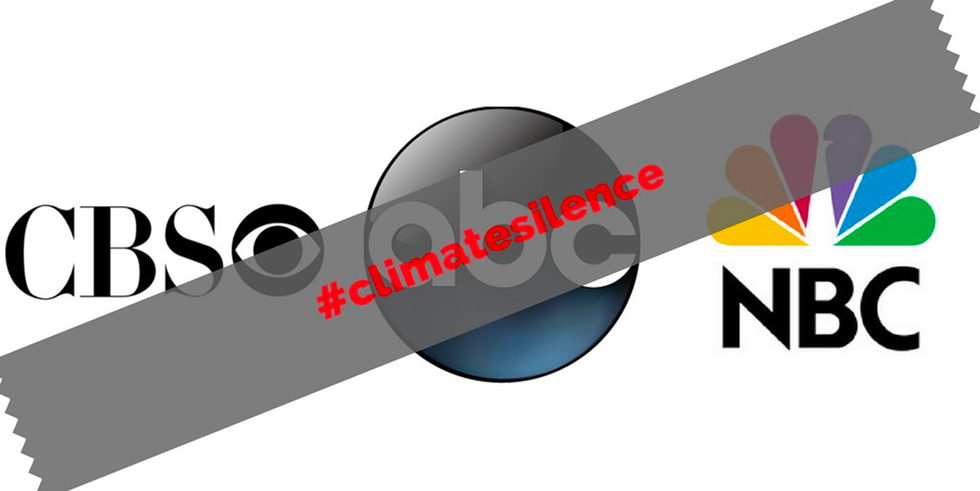 #ClimateSilence: Corporate Media Called Out for Whiffing on 'Most Important Story in the World'
