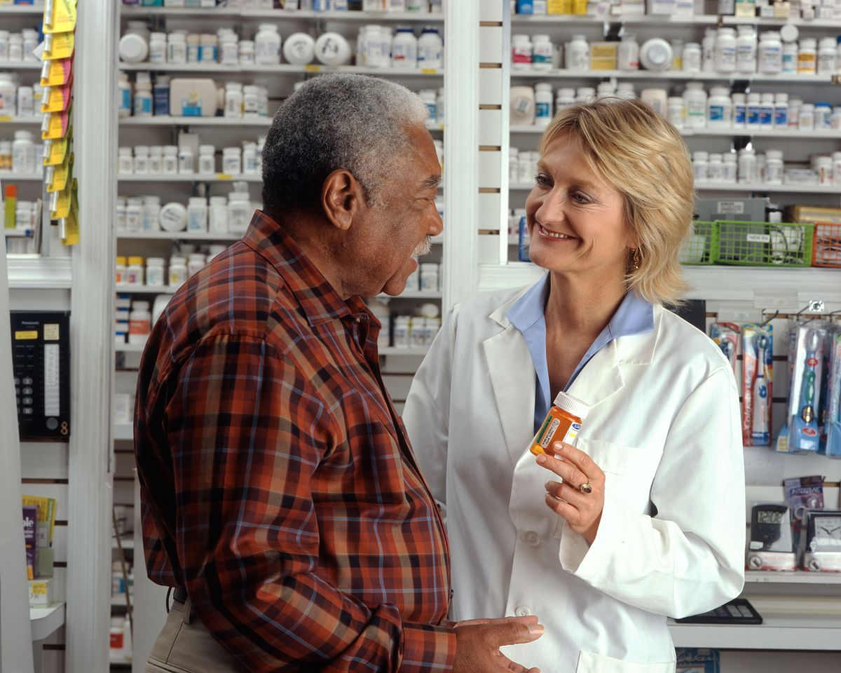 Your Pharmacist Behind The Counter