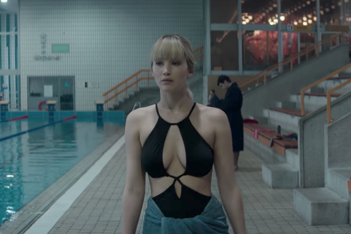 """Jennifer Lawrence is a Seductive Russian Spy in Trailer for """"Red Sparrow"""""""