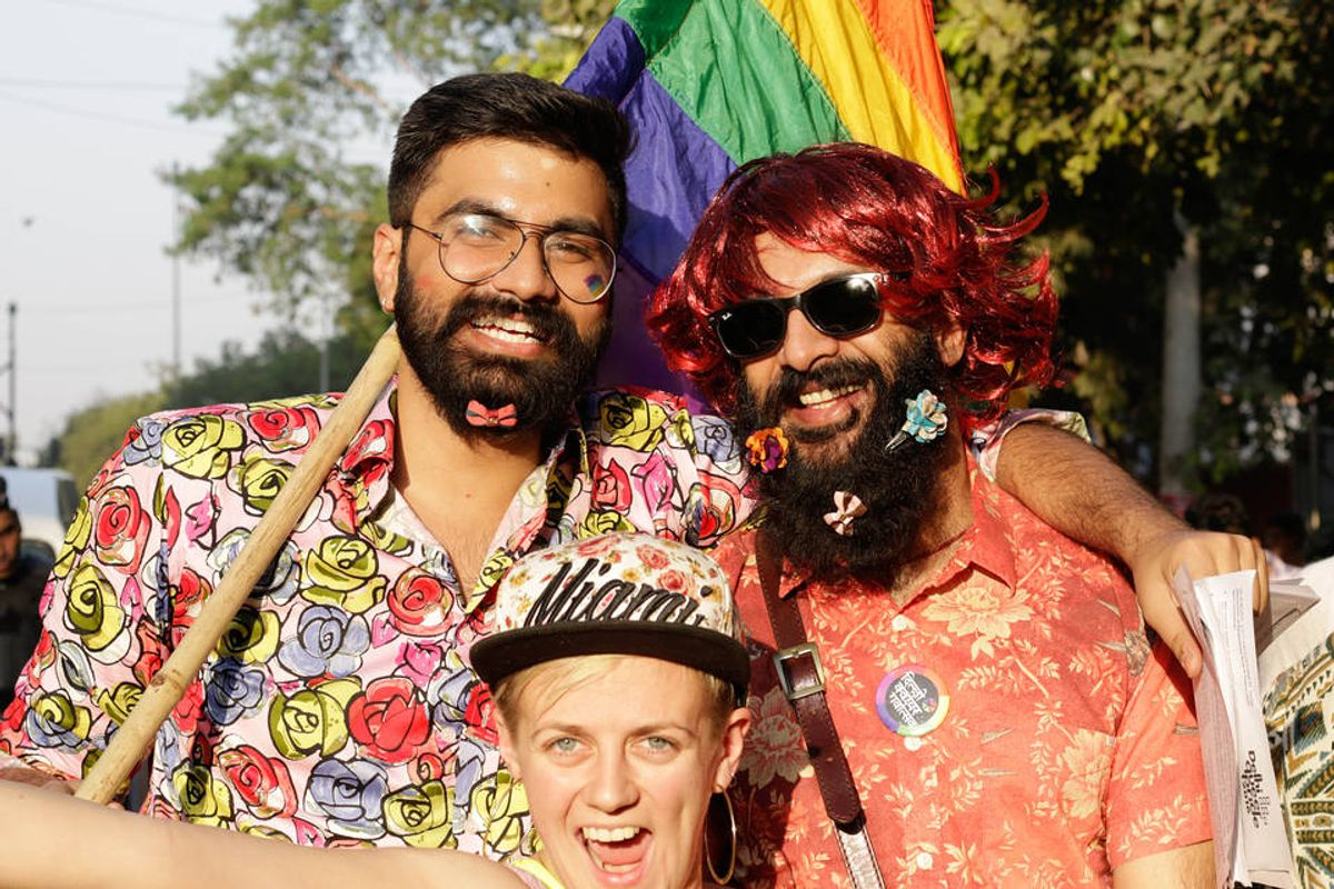 A Look At India's First Ever Pride Parade