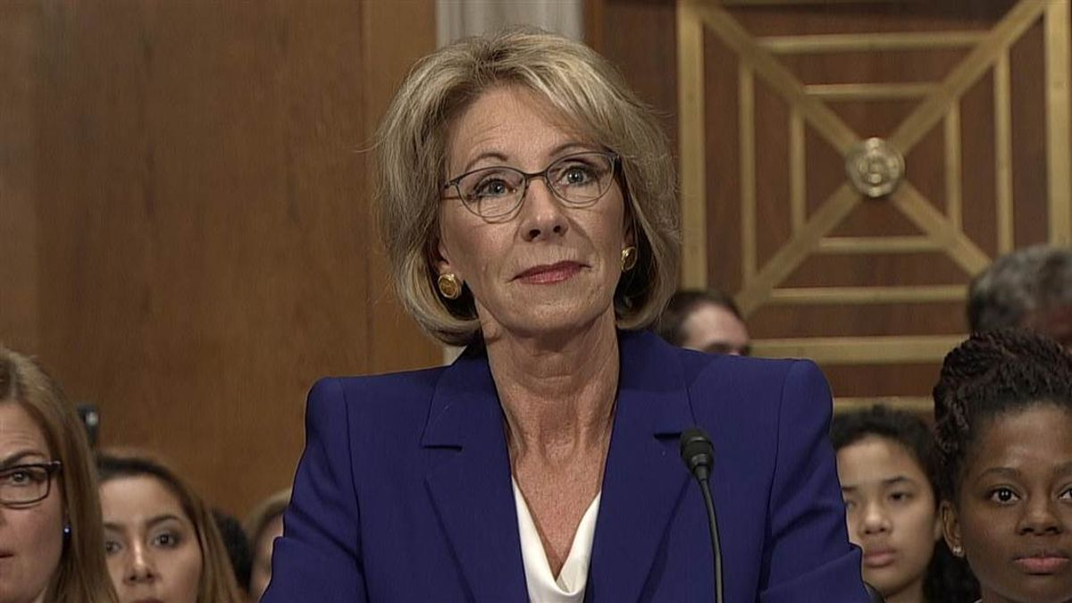 No, Betsy DeVos is Not Protecting Rapists