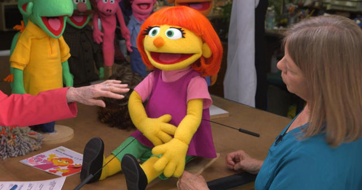 Julia: A Muppet With Autism