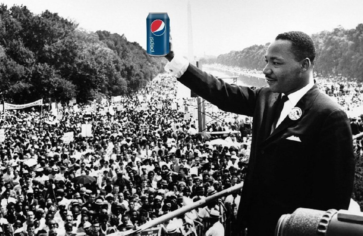 Martin Luther King Jr. Didn't Need A Dream, He Needed A Pepsi