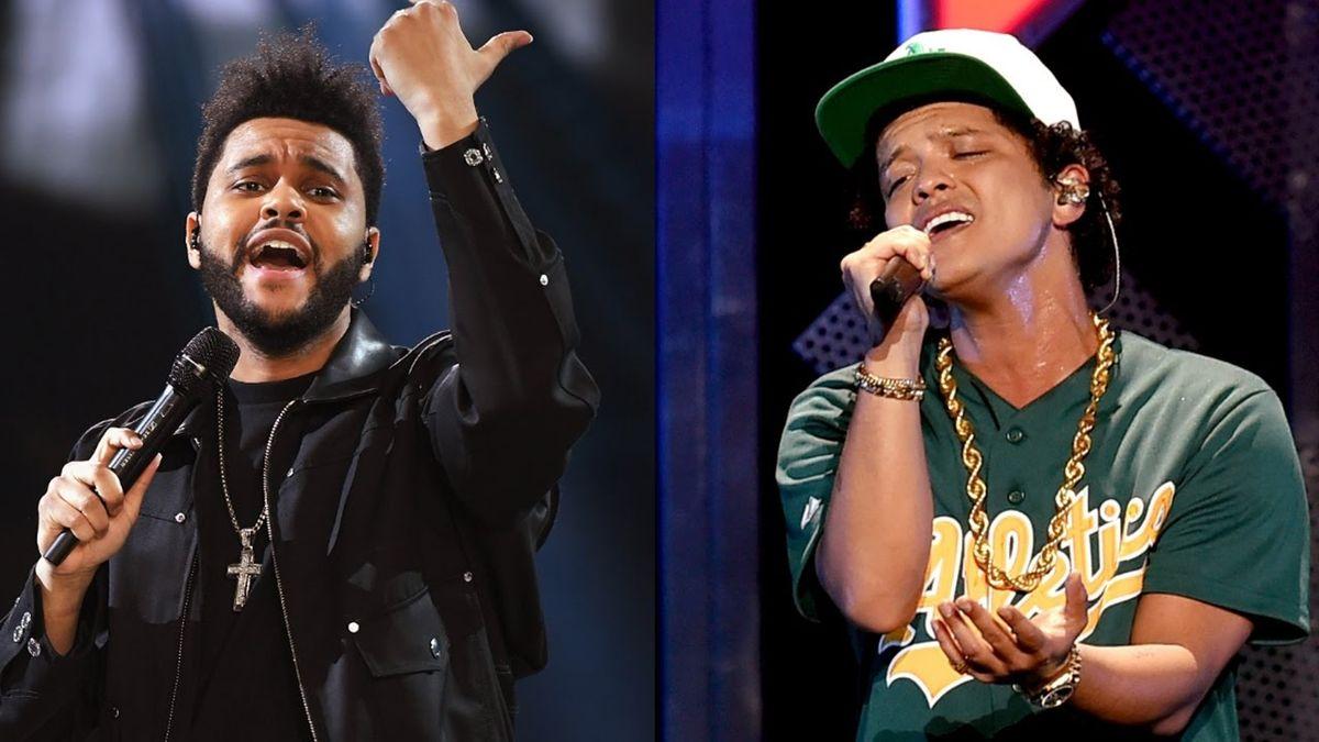 Top 5 Bruno Mars And Weeknd Songs