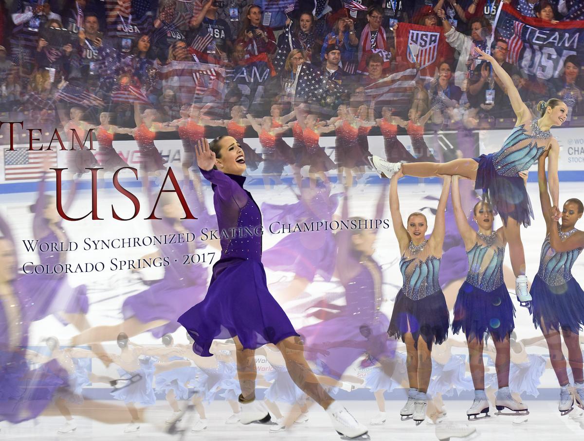 Synchronized Skating Worlds Inspire Olympic Hopes