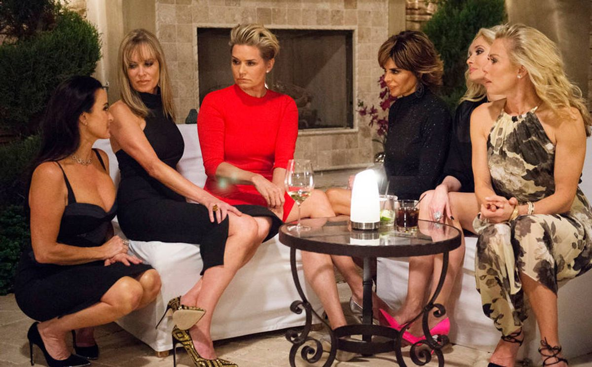 The Anticipation of Summer As Told By The Real Housewives
