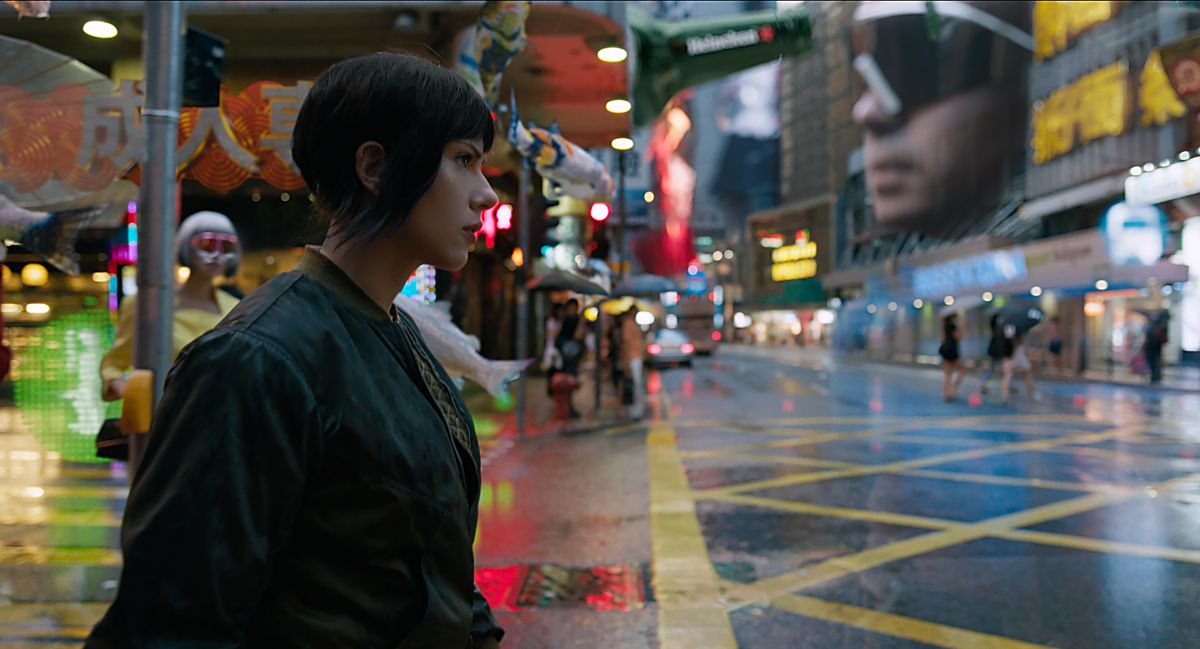 'Ghost In The Shell' Is Not As Bad As The Internet Says