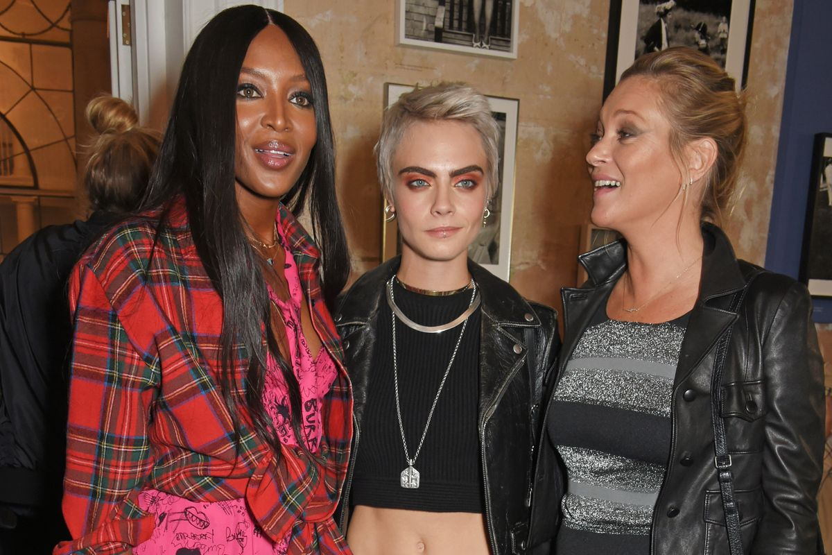 See Cara, Kate, Naomi and More Sit Front Row on Day 2 of LFW