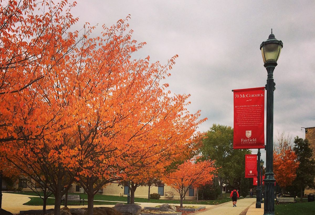 No, There Is Nothing Like Autumn At Fairfield U