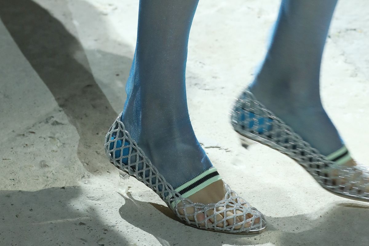 Fashion Week Trend Report: Socks and Stockings Get Chic