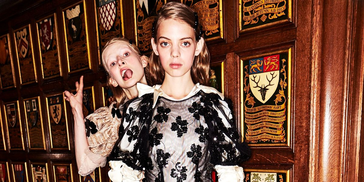 Go Backstage at the First Shows of London Fashion Week