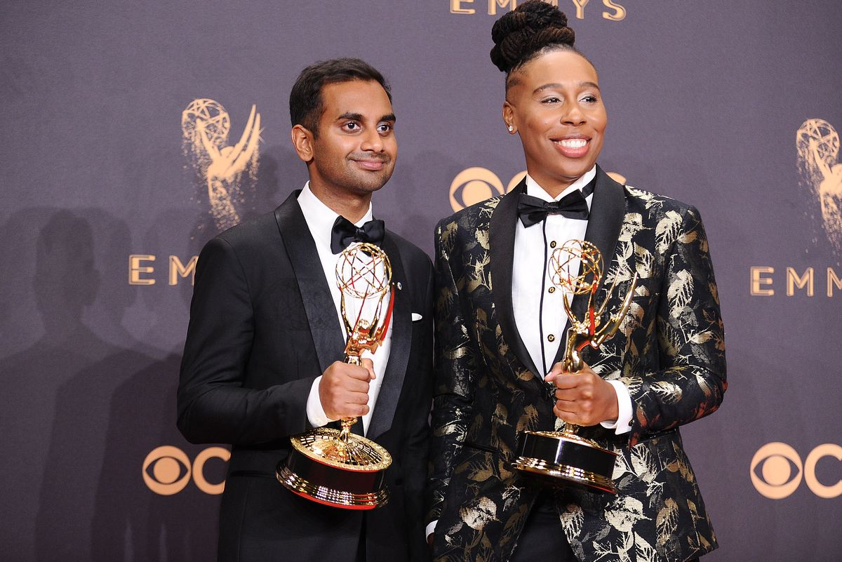 Aziz Ansari and Lena Waithe Winning for 'Master Of None' Was the Best Part of the Emmys