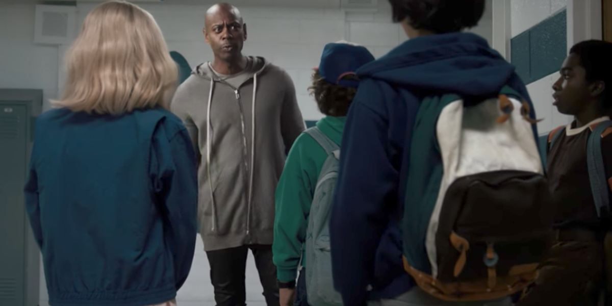 See Dave Chappelle and Chris Rock Enter the 'Stranger Things' World