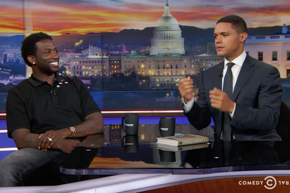 Gucci Mane Was a Pure Delight on The Daily Show with Trevor Noah